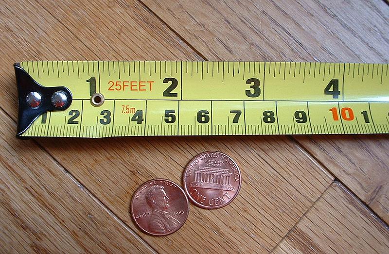 Measuring Tape Inch+CM